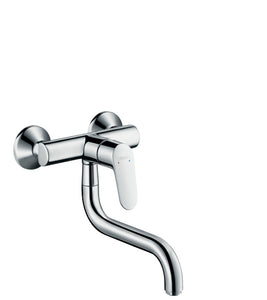 FOCUS SINGLE LEVER KITCHEN MIXER WALL-MOUNTED
