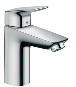 LOGIS SINGLE LEVER BASIN MIXER 100 WITH POP-UP WASTE SET
