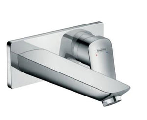 LOGIS SINGLE LEVER BASIN MIXER FOR CONCEALED INSTALLATION WALL-MOUNTED WITH SPOUT 19.5 CM