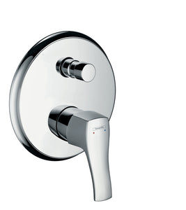METRIS CLASSIC SINGLE LEVER BATH MIXER FOR CONCEALED INSTALLATION