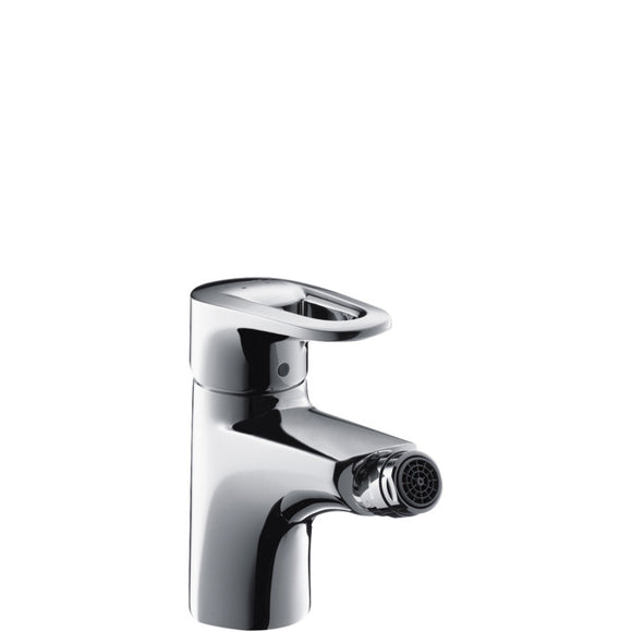 METROPOL E - SINGLE LEVER BIDET MIXER WITH POP-UP WASTE SET