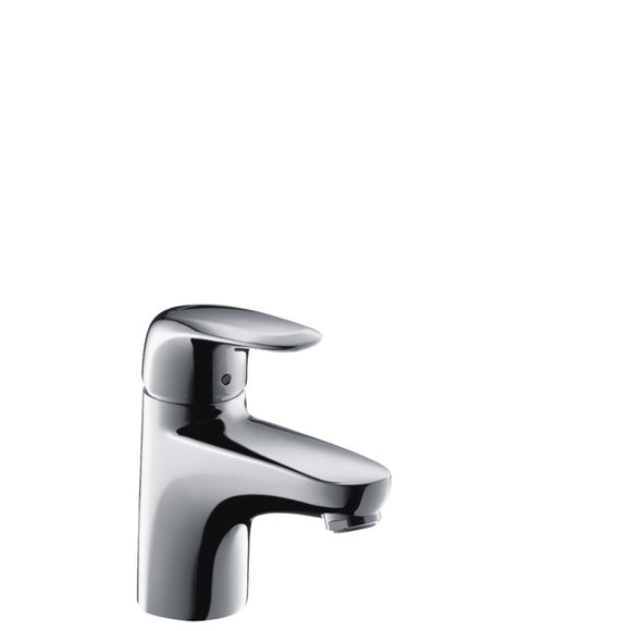 METRIS E SINGLE LEVER BASIN MIXER WITH POP-UP WASTE SET
