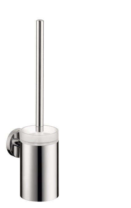 LOGIS TOILET BRUSH WITH TUMBLER WALL-MOUNTED