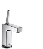 AXOR CITTERIO - SINGLE LEVER BASIN MIXER 110 WITH PIN HANDLE AND POP-UP WASTE SET