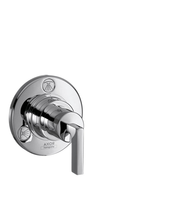 AXOR CITTERIO M SHUT-OFF/ DIVERTER VALVE TRIO/ QUATTRO FOR CONCEALED INSTALLATION WITH LEVER HANDLE