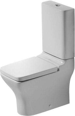PURAVIDA TOILET CLOSE-COUPLED (WITHOUT CISTERN AND SEAT COVER)