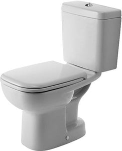 D-CODE -TOILET CLOSE-COUPLED (WITHOUT CISTERN AND SEAT COVER)