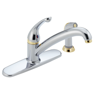 INNOVATIONS SINGLE HANDLE KITCHEN FAUCET.