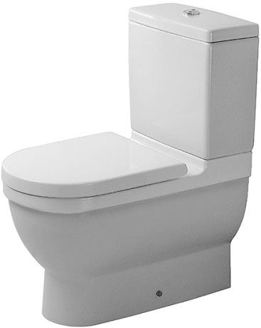 STARCK 3 -TOILET CLOSE-COUPLED(WITHOUT CISTERN AND SEAT COVER)