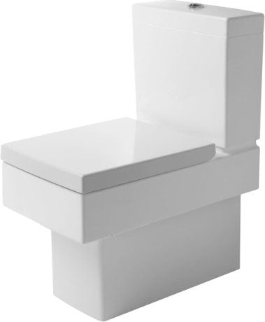 VERO TOILET CLOSE-COUPLED (WITHOUT CISTERN AND SEAT COVER)