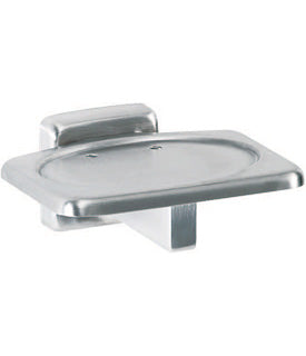 SURFACE-MOUNTED SOAP DISH (SATIN)