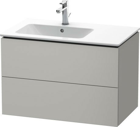 L-CUPE VANITY UNIT WALL MOUNTED
