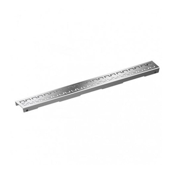 DRAINLINE DESIGN GRATE ROYAL POLISHED OR BRUSHED STAINLESS STEEL FOR SHOWER CHANNEL, STRAIGHT