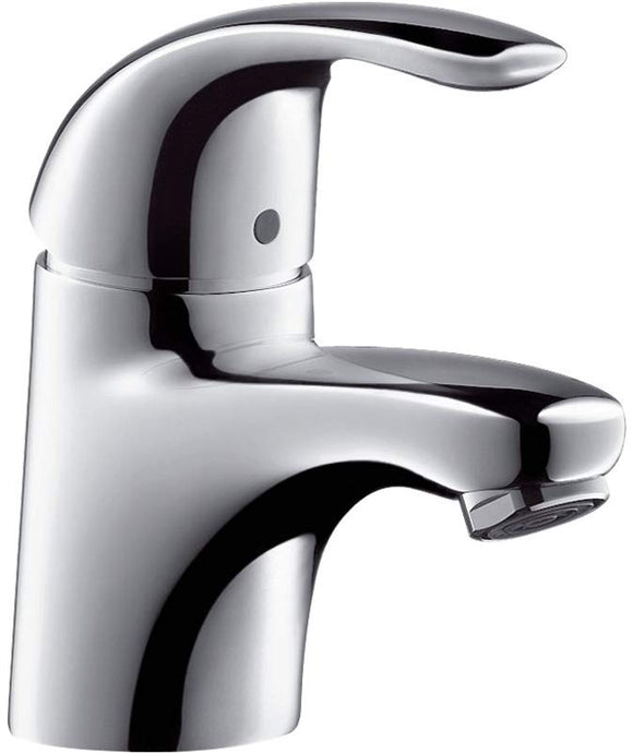 FOCUS E  BASIN MIXER SINGLE HOLE LEVER HANDLE WITH POP- UP WASTE1¼' ,CHROME