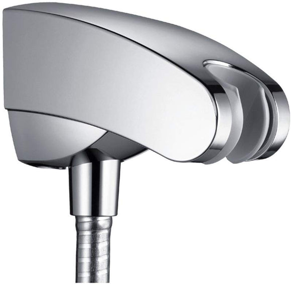 PORTER E - SHOWER HOLDER WITH INTEGRATED HOSE -  CHROME