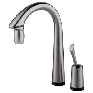 PASCAL BRIZO SINGLE HANDLE PULL-DOWN KITCHEN FAUCET WITH HANDS-FREE AND SMARTTOUCH TECHNOLOGY