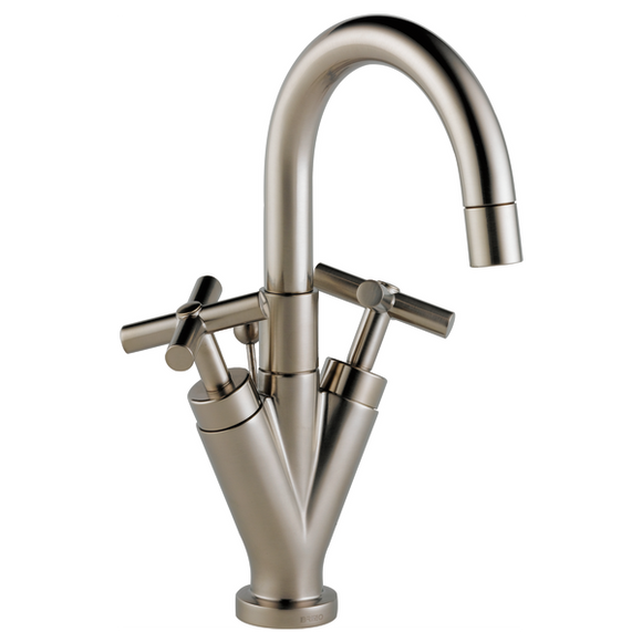 TREVI TWO HANDLE SINGLE HOLE LAVATORY FAUCET