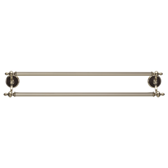 CHARLOTTE 24 IN DOUBLE TOWEL BAR