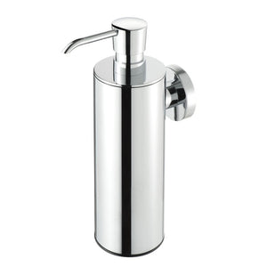 SOAP DISPENSER SURFACE MOUNTED CHROME FINISH