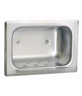 RECESSED HEAVY-DUTY SOAP DISH