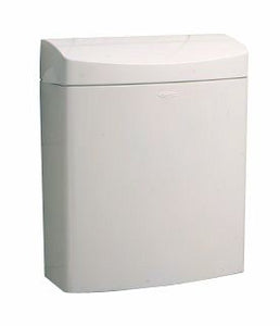 SURFACE- MOUNTED SANITARY NAPKIN DISPOSAL