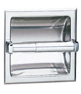 RECESSED TOILET TISSUE DISPENSER