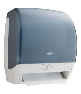 AUTOMATIC, UNIVERSAL SURFACE-MOUNTED ROLL TOWEL DISPENSER