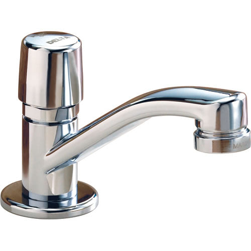 COMMERCIAL SINGLE HANDLE UTILITY FAUCET, SLOW SELF CLOSING