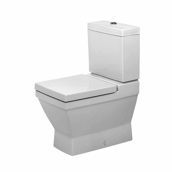 2ND FLOOR CLOSE COUPLED PAN VARIO OUTLET WHITE (WITHOUT CISTERN AND SEAT COVER)