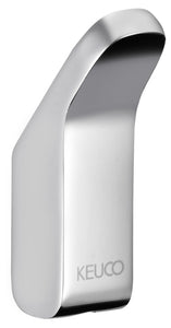 NOVO COLLECTION - TOWEL HOOK , SILVER