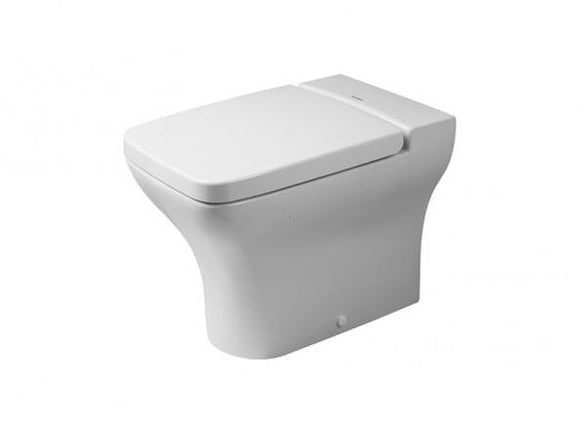 TOILET FLOOR STANDING BACK TO WALL 360X575MM (WITHOUT SEAT COVER )