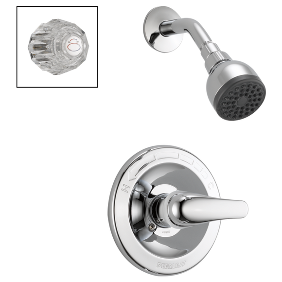 PEERLESS SHOWER ONLY COMPLETE COMBO HANDLES