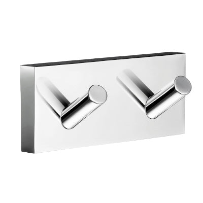 DOUBLE TOWEL HOOK.