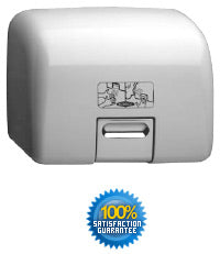 BOBRICK B-709 115V AIRPRO AUTOMATIC HAND DRYER CAST ALUMINUM COVER