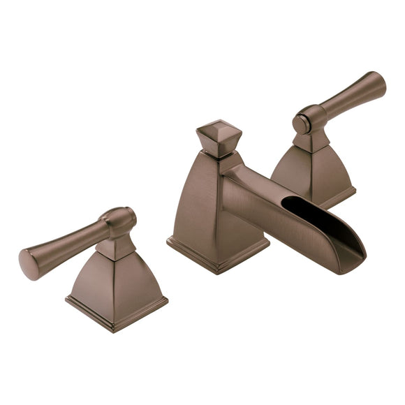 BRIZO VESI WIDESPREAD WATERFALL BATHROOM FAUCET