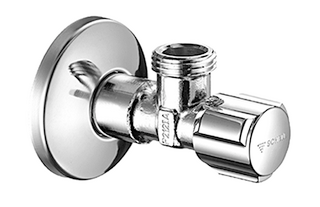 SCHELL ANGLE VALVE WITH REGULATING FUNCTION COMFORT