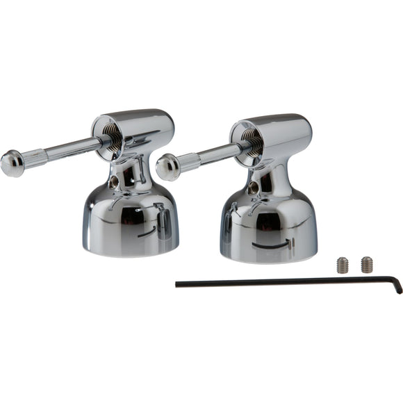 CLASSIC METAL LEVER HANDLE SET