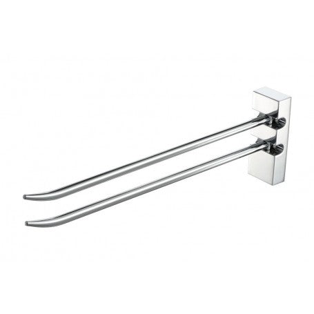 HAIKU 2 ARM TOWEL RAIL