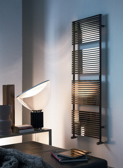 KUBIK CARBON STEEL TOWEL RAIL WARMERS  - STANDARD MOUNTING