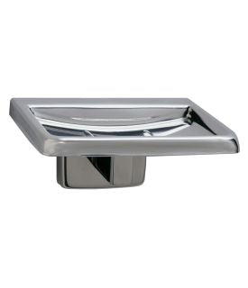 BOBRICK B-6807 SURFACE MOUNTED SOAP DISH ? SATIN FINISH