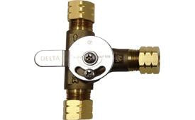 COMMERCIAL MECHANICAL MIXING VALVE WITH INTEGRAL CHECK VALVES