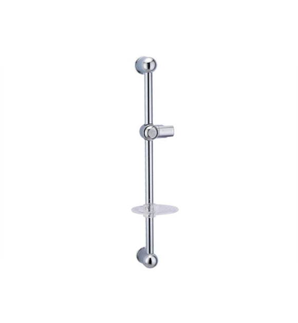 WALL BAR WITH ADJUSTABLE SLIDE HAND SHOWER HOLDER