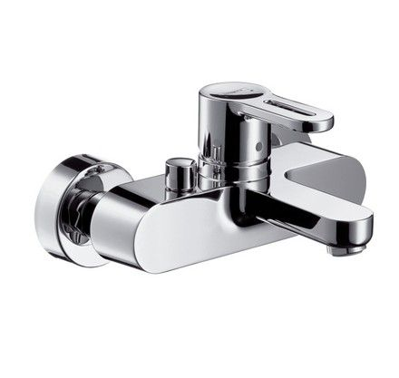 METROPOL S - BATH\SHOWER MIXER EXPOSED WALL MOUNTED LEVER HANDLE,CHROME