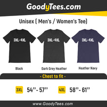 Load image into Gallery viewer, Large And Tall 3XL 4XL 5XL Plus Size Clothing For Man And Women Unisex Shirt