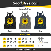 Load image into Gallery viewer, Accept Understand Love Helianthus Puzzle Awareness Women's Tank Top