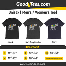 Load image into Gallery viewer, Cute Autism Puzzle Elephant Awareness Day Unisex Shirt