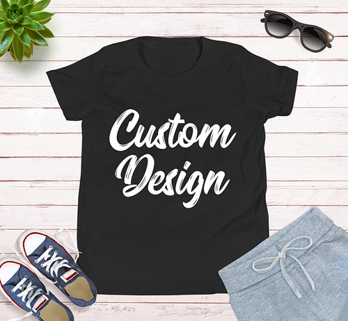 Custom Design Your Own Kids Tee Shirt For Holidays and Family Trips