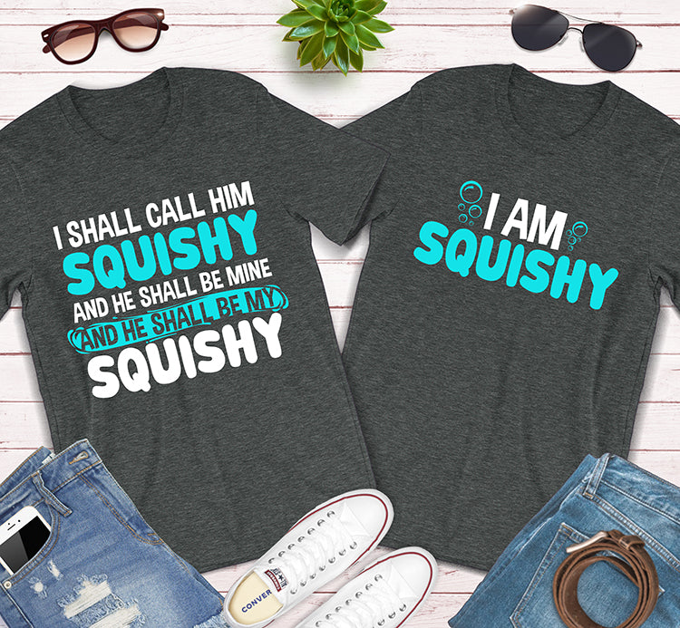 I Shall Call Him Squishy Finding Nemo Disney Couples Matching Shirts