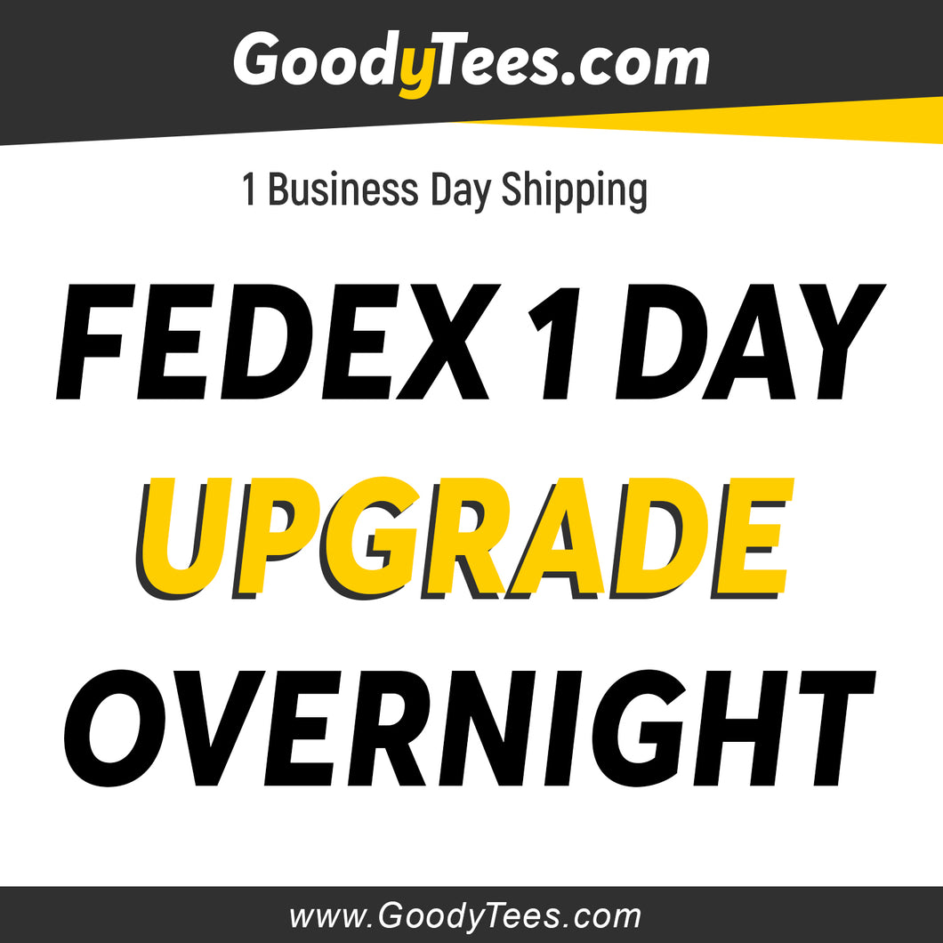 Get Your Orders Faster with FedEx Overnight Shipping 1 Business Day after fulfillment