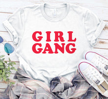 Load image into Gallery viewer, Girl Gang Bachelorette Party Feminist Shirt